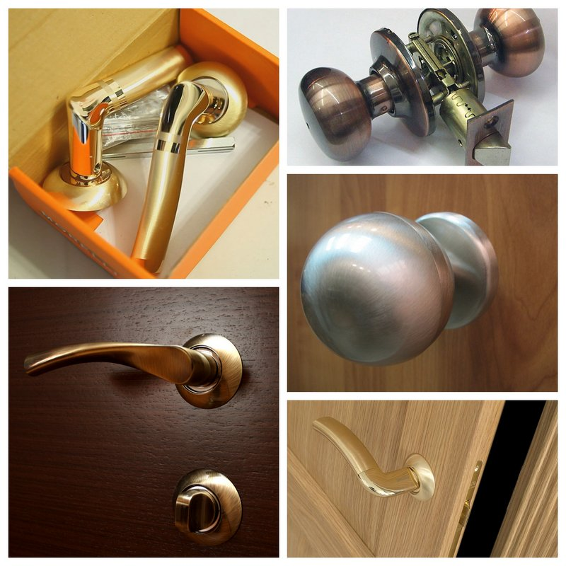 Ручка для межкомнатных дверей – декоративная составляющая интерьера