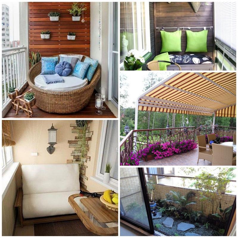 Дизайн балкона в вашем доме.