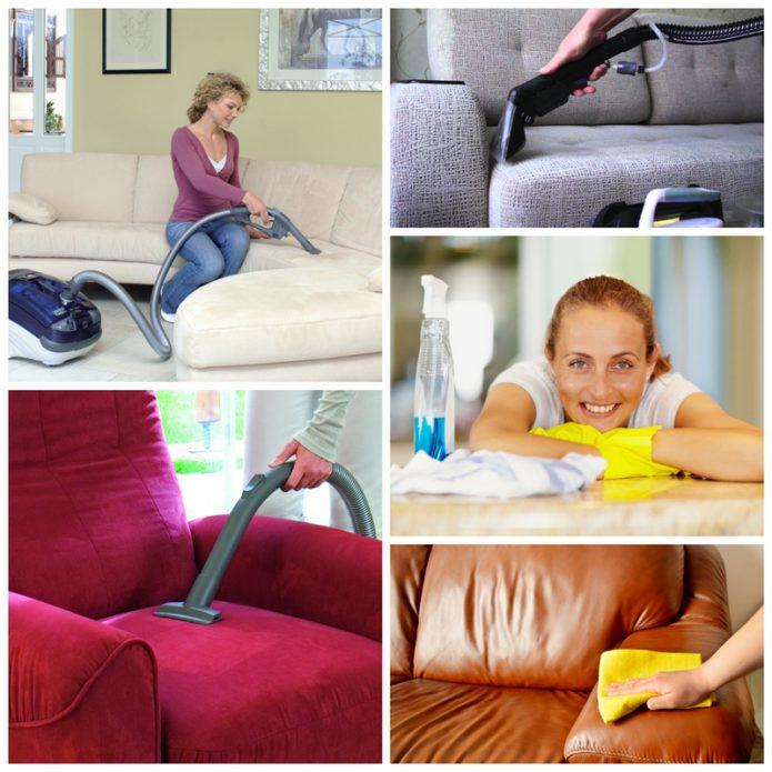 Эффективная очистка мебели в домашних условиях