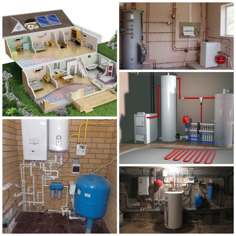 Гидравлическая система отопления и её характеристики