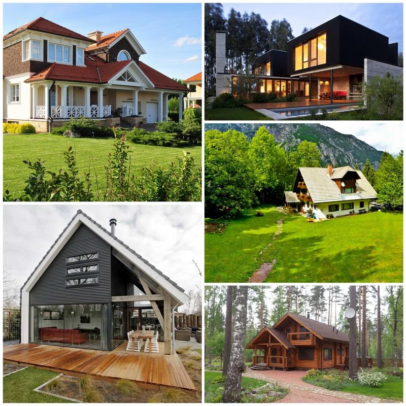 Как самостоятельно спроектировать загородный дом