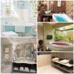 Организация интерьера ванной комнаты