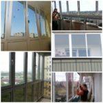 Остекление балкона собственными руками