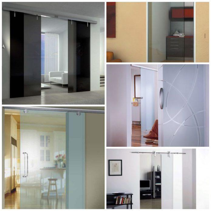 Стеклянные двери в интерьере вашего дома