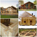 Строительство домов из клееного бруса — модно и экологично