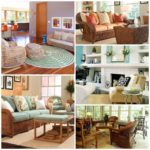 В каком интерьере будет уместна плетеная мебель?