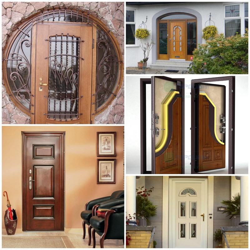 Входные двери: Безопасность дорогого стоит  Театр начинается с вешалки, а наше жилье с входной двери. Сейчас можно приобрести несколько основных видов, но перед тем, как покупать дверь, лучше иметь четкое представление о том, какая именно больше всего отвечает вашим потребностям. Основными критериями выбора будут безопасность и прочность, глазок или иные возможности контроля доступа, звуко- и теплоизоляция, целесообразная конструкция и замок, эстетичность.    Самыми дешевыми являются алюминиевые, пластиковые и стеклянные двери. Но их использование в квартире, например, довольно ограничено. Алюминиевые двери лучше всего устанавливать, когда требуется раздвижная модель – склады, гаражи, въездные конструкции. Пластиковые же чаще всего используются для внутреннего оформления жилья. Но их, как и стеклянные, лучше устанавливать в частных домах или в офисах.    Самыми востребованными являются, естественно, стальные двери. Однако их можно отделать панелями, которые придадут им вид пластиковой или деревянной. Чаще всего их окрашивают порошковыми красками. Они долговечны, практичны, отвечают требованиям пожарной безопасности и уровень их износа минимален. Поцарапанные пластиковые панели по необходимости можно поменять на новые - другого цвета и фактуры.    Специалисты считают, что в первую очередь необходимо обращать внимание на внутренний лист стальной двери, он должен быть выполнен из цельного листа без сварных швов. В противном случае, при сильном ударе, он может сломаться. Обязательно должны быть притворы, части внешнего листа, закрывающие зазор между дверной коробкой и дверью. Они не дадут использовать для несанкционированного проникновения лом или иной инструмент взлома. Дверную коробку лучше дополнить резиновой прокладкой. Она предотвратит проникновение с площадки неприятных запахов и утечку тепла.    Деревянные двери сейчас пользуются меньшим спросом. В основном из-за того, что они недостаточно безопасны. Целесообразнее использовать их в охраняемых помещениях вроде по