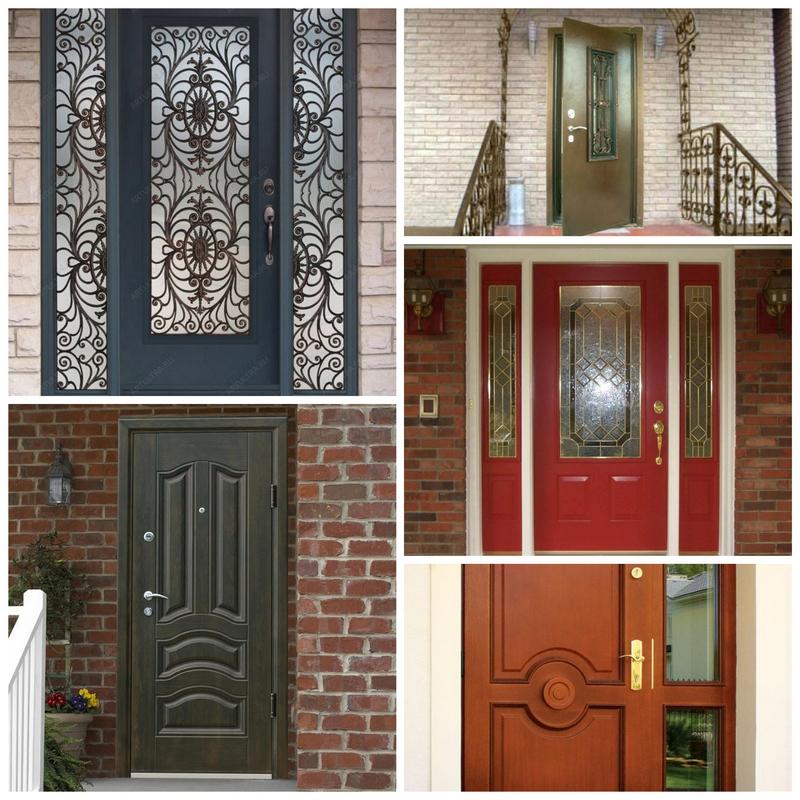 выбрать входную дверь для частного дома