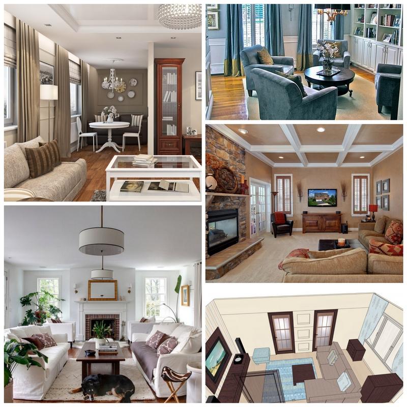 Идеальная композиция мебели для вашей гостиной