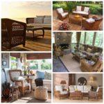 Плетеная мебель в интерьере вашего дома