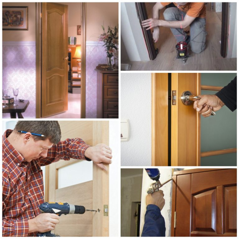 Ставить двери своими руками