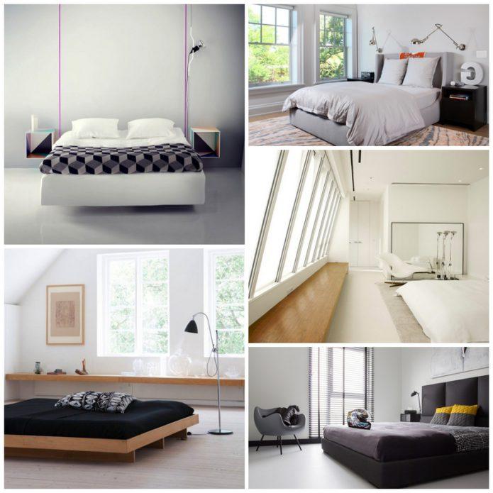 Минималистичная спальня - только сон, только отдых