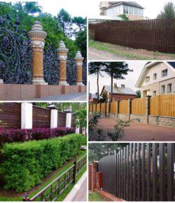 Ограда вокруг загородного дома – его визитная карточка