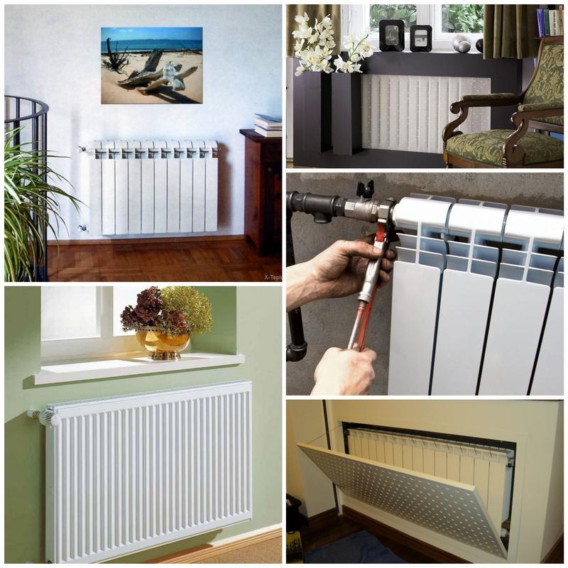 Процесс установки радиаторов отопления