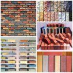 Цветной кирпич — новинка в строительных материалах