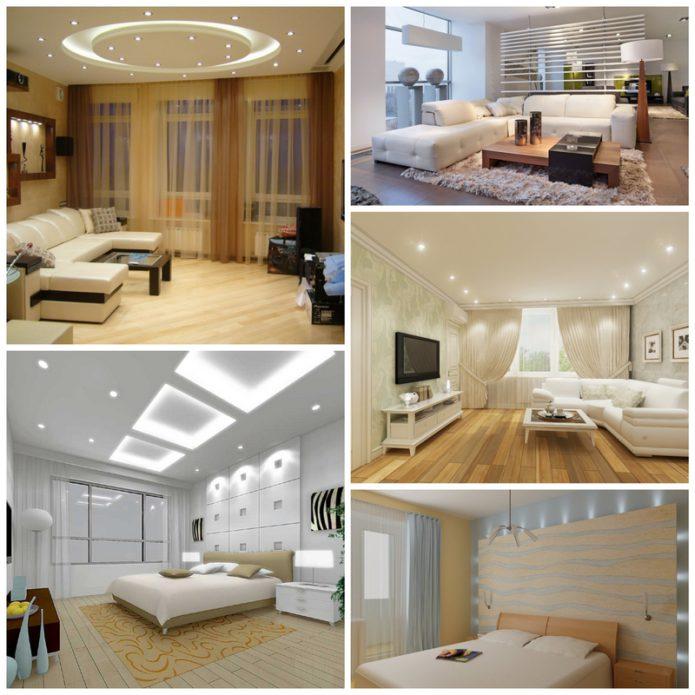 Точечное освещение в вашем доме