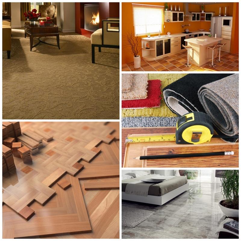 Выбор напольного покрытия для каждой комнаты отдельно