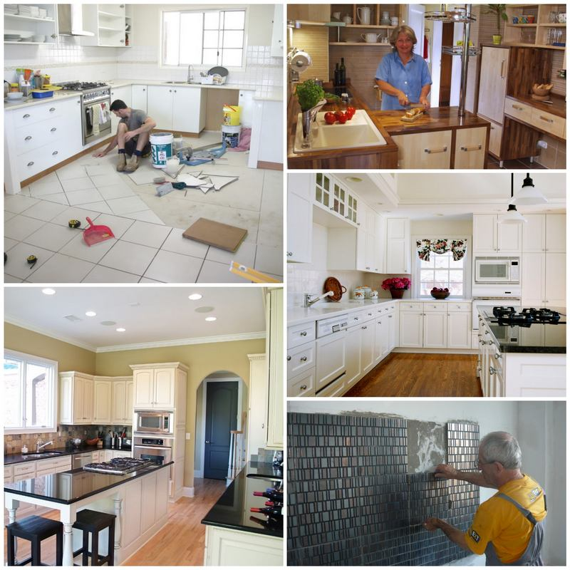 Как ремонт в кухне сделать своими руками 14
