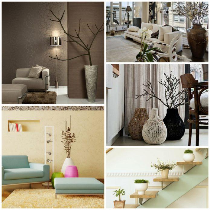 Интерьерные вазы - роскошный аксессуар