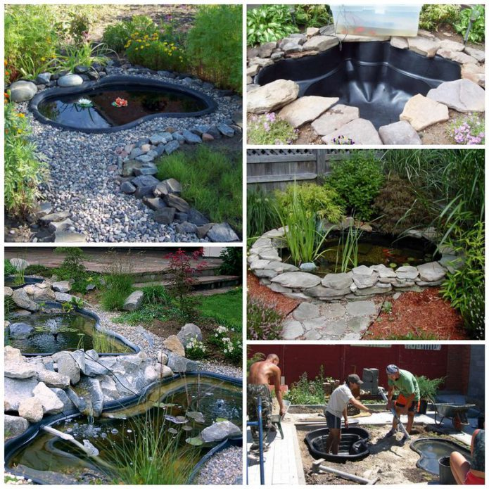 Как установить пластиковый пруд на загородном участке?