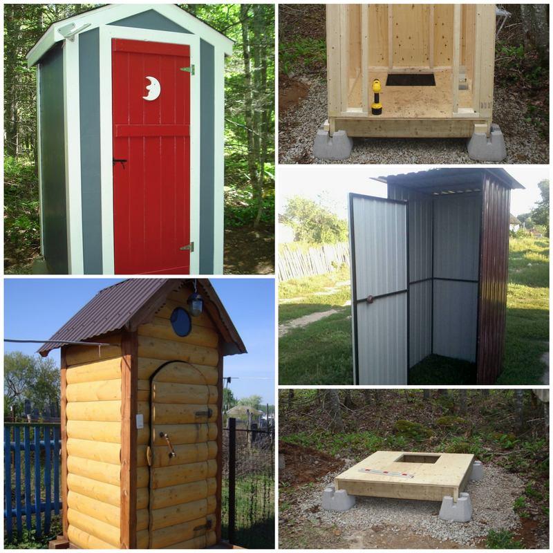 Строим туалет на даче