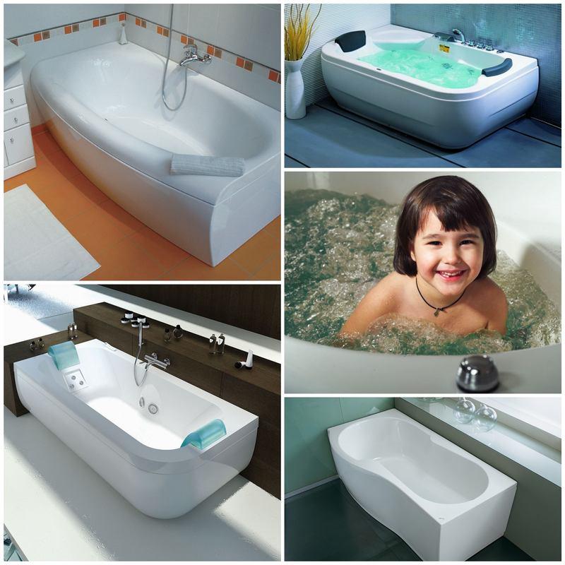 Процесс производства: пластиковые ванны