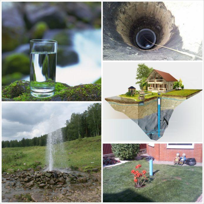Артезианские скважины или организации автономной системы водоснабжения в доме