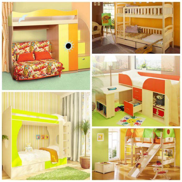 Борьба за жизненное пространство - детские двухъярусные кровати