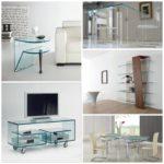 Как обыграть стеклянную мебель в интерьере