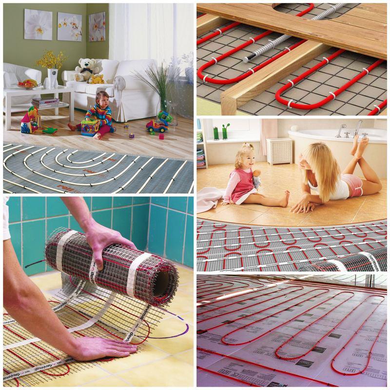 Как выбрать теплый пол для дома