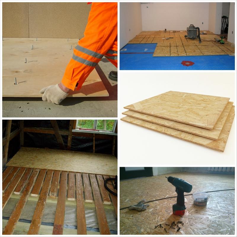 Как выровнять деревянные полы с помощью ОСБ плит