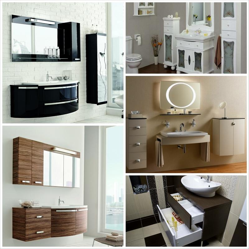 Мебель для ванной комнаты: какой она должна быть?