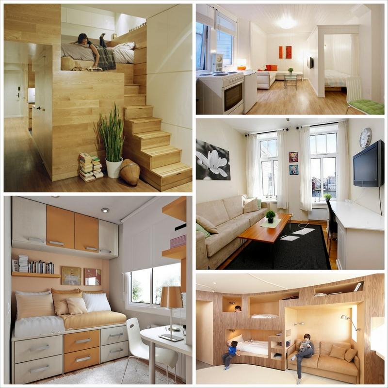 Правильный дизайн маленькой квартиры