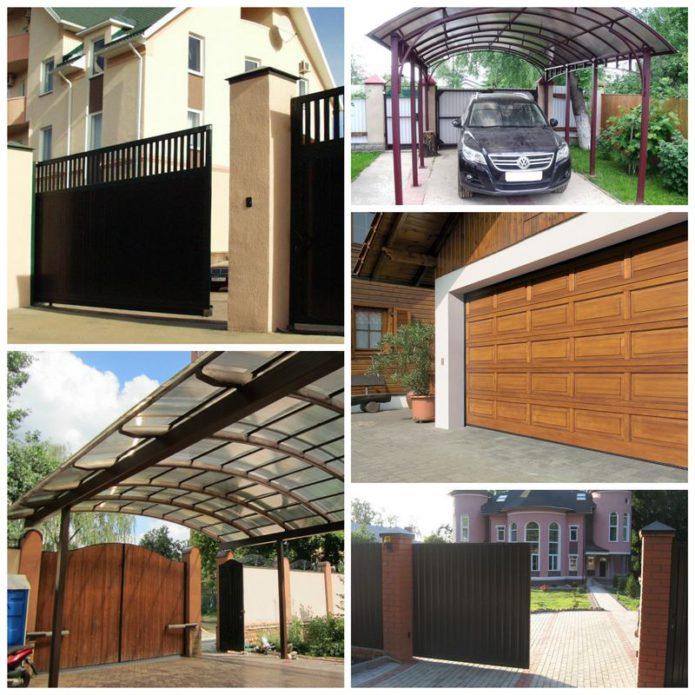 Улучшаем свой дом — ворота и другие полезные дополнения для участка