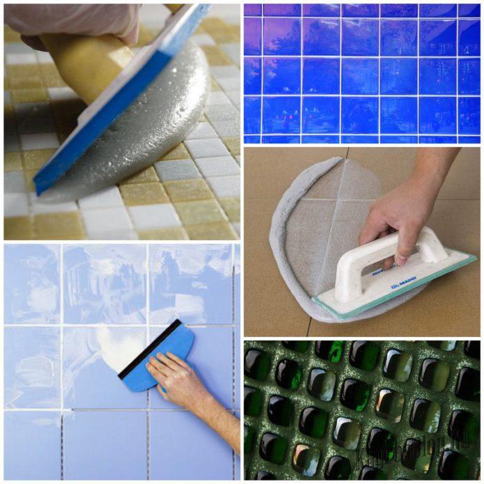 Что такое затирка для швов плитки и для чего она нужна?
