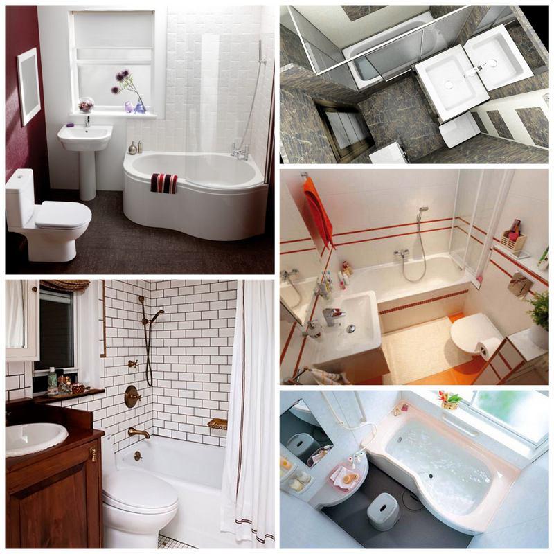 Как организовать стильный интерьер в малогабаритной ванной комнате?