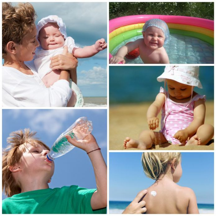 Как помочь маленьким детям перенести жару?