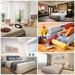 Как провести простой косметический ремонт спальни