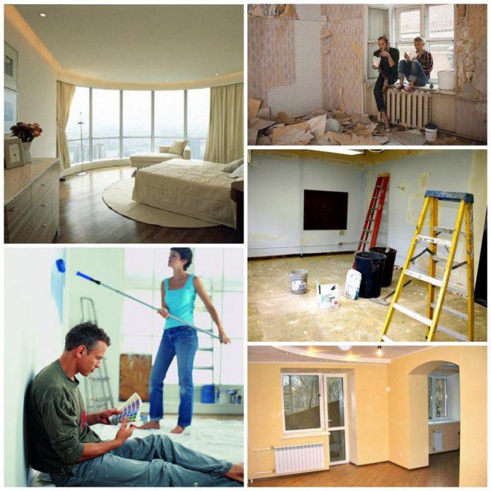 Как сделать быстрый ремонт квартиры