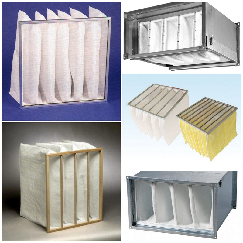 Карманные фильтры для вентиляционных систем