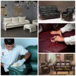 Мебель из кожи – простые правила ухода