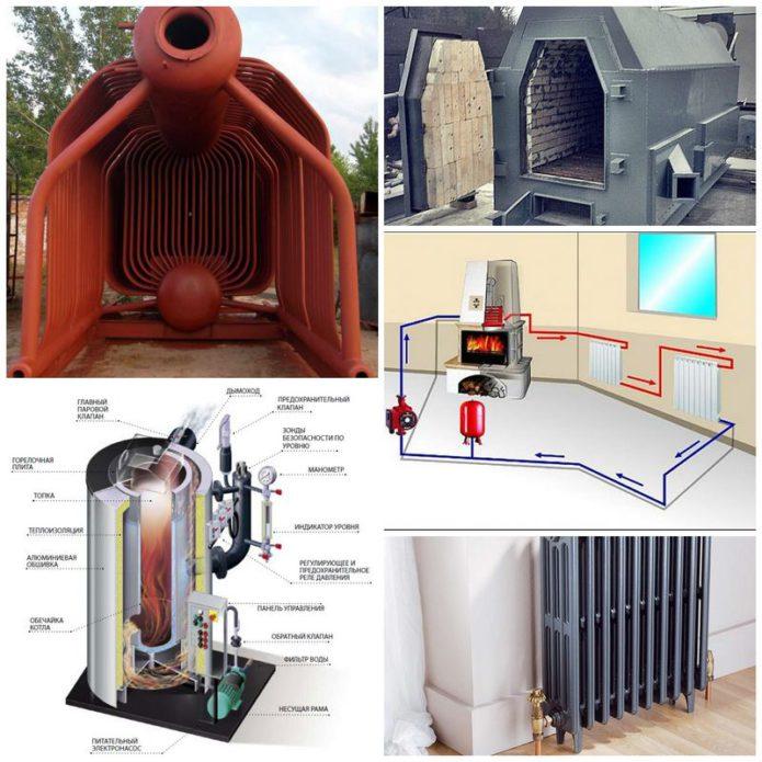 Паровые системы отопления домов