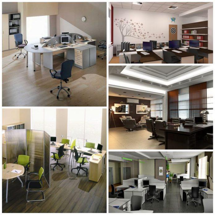 Планируем интерьер офисного помещения