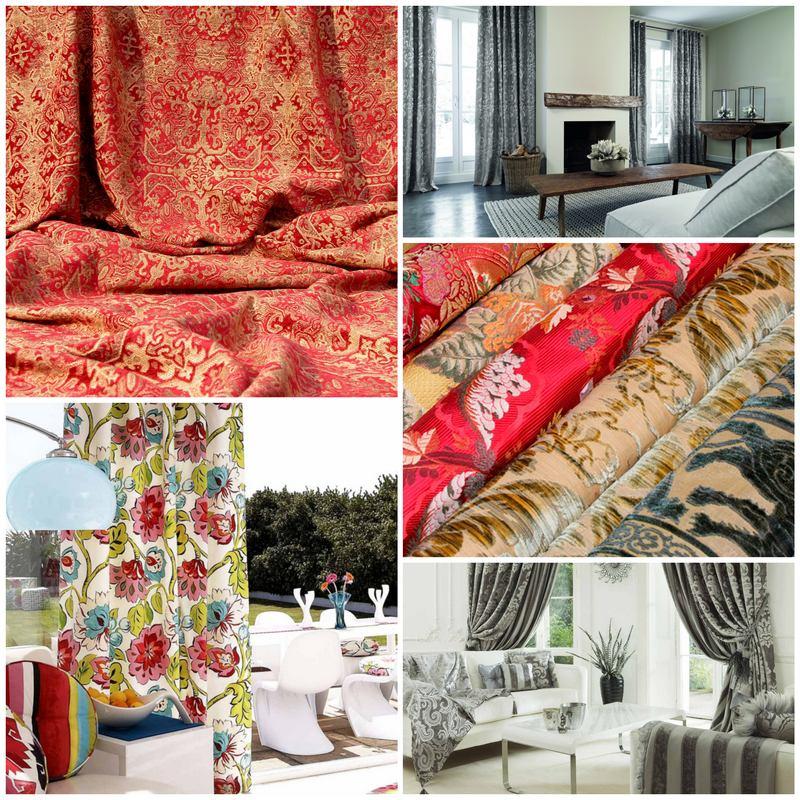 Портьерные ткани в интерьере вашего дома