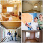 Виды ремонта домов и квартир
