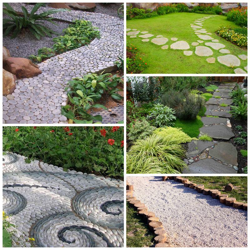 Выбираем садовые дорожки для загородного дома или дачи
