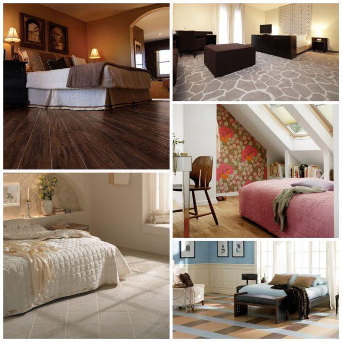 Выбор напольных покрытий для спальни
