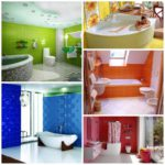 Выбор цвет для ванной комнаты