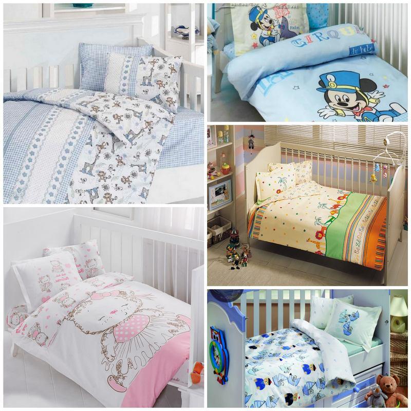 Как выбрать постельное бельё для младенцев