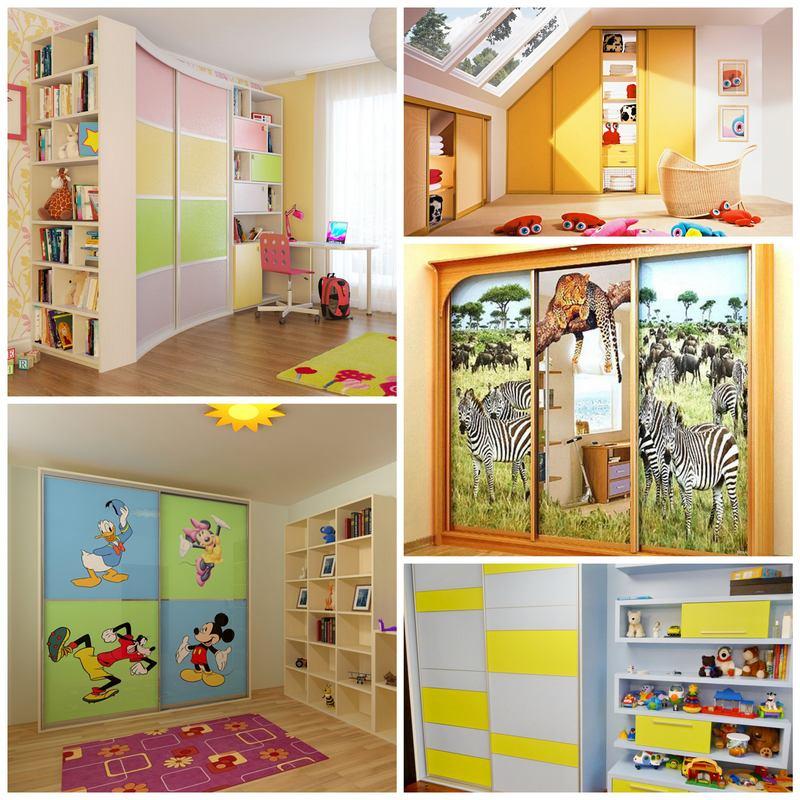 Как выбрать шкаф-купе в детскую комнату